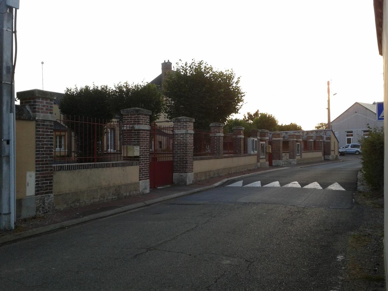 l'école de Vieuvicq